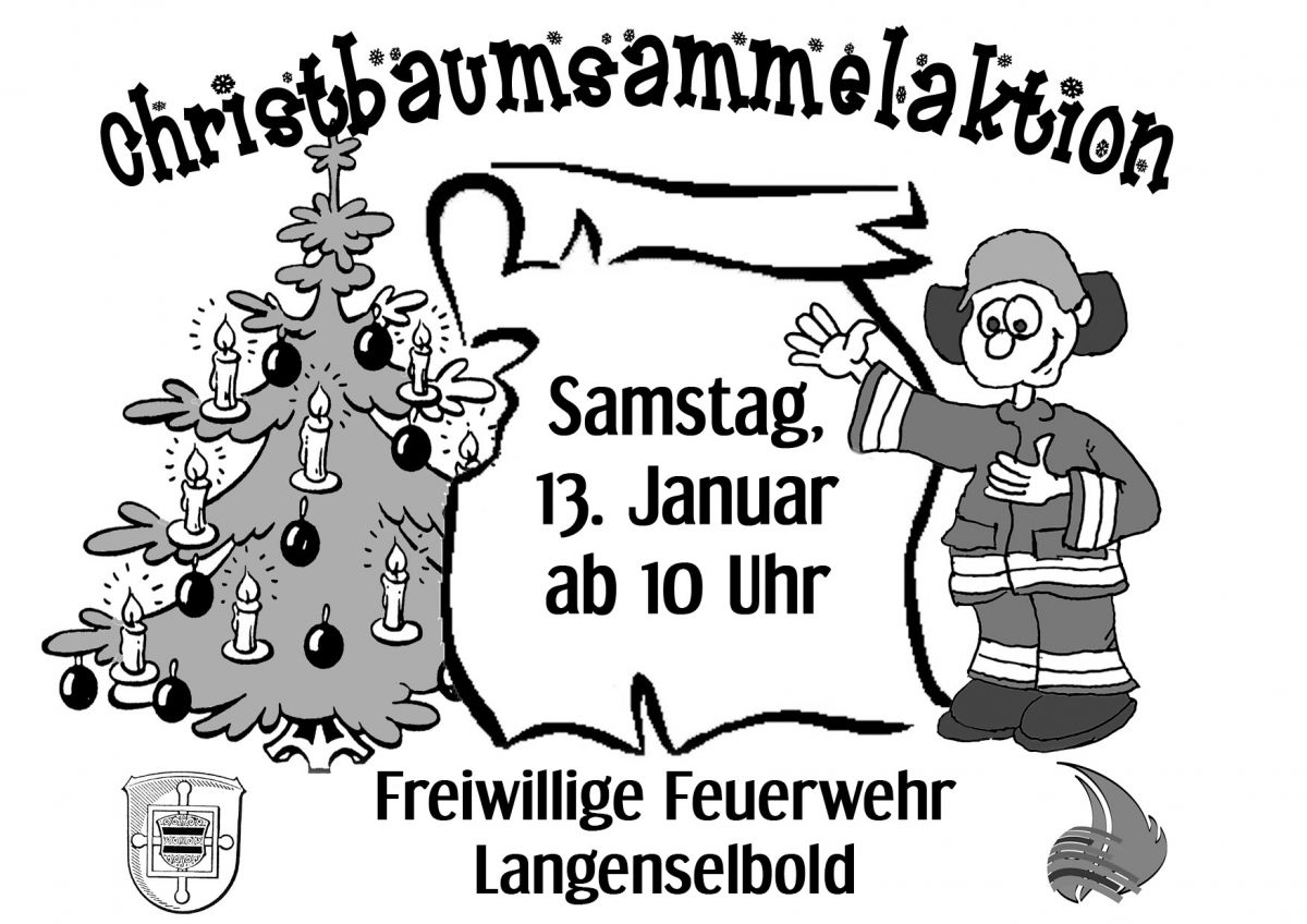 Plakat Christbaumaktion2018